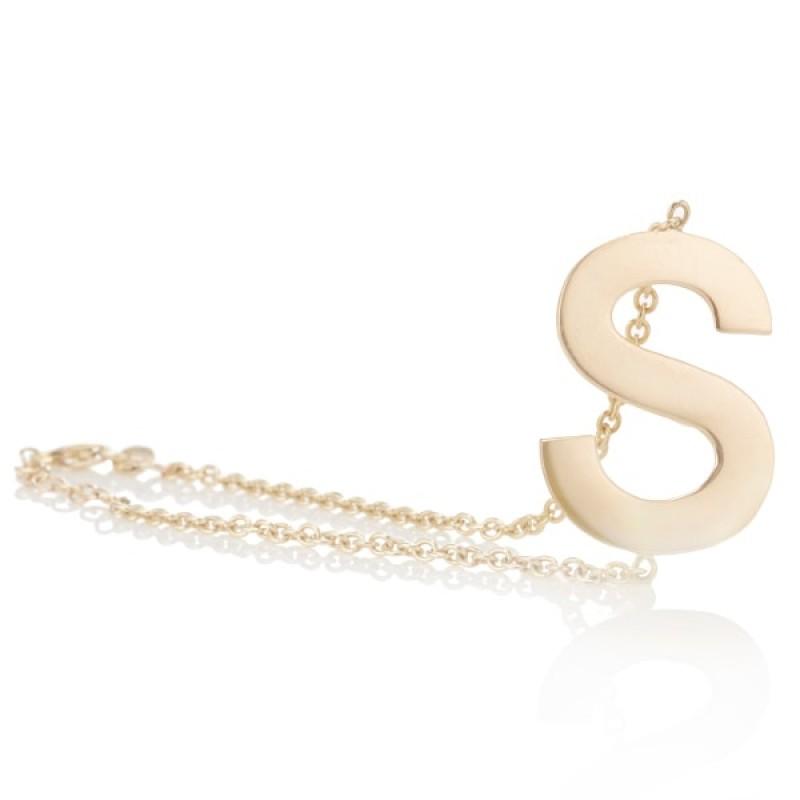 Medium Initial Bracelet