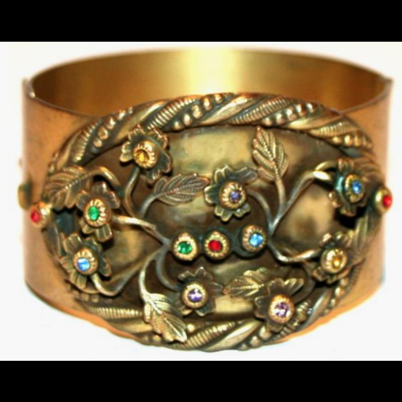 Vintage Art Nouveau Bracelet