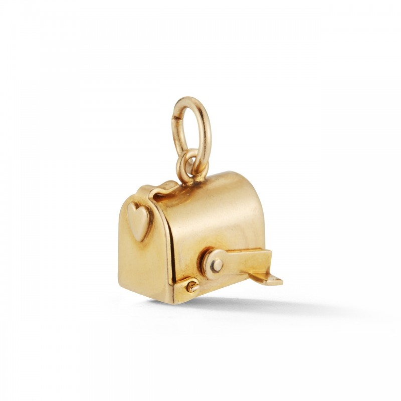 Estate Love Letter Mailbox Charm