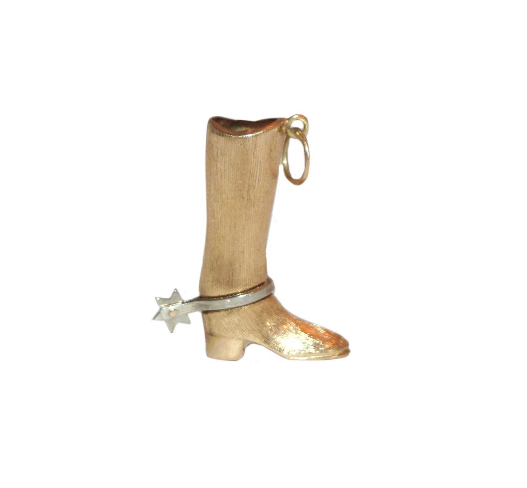 Estate Cowboy Boot Charm