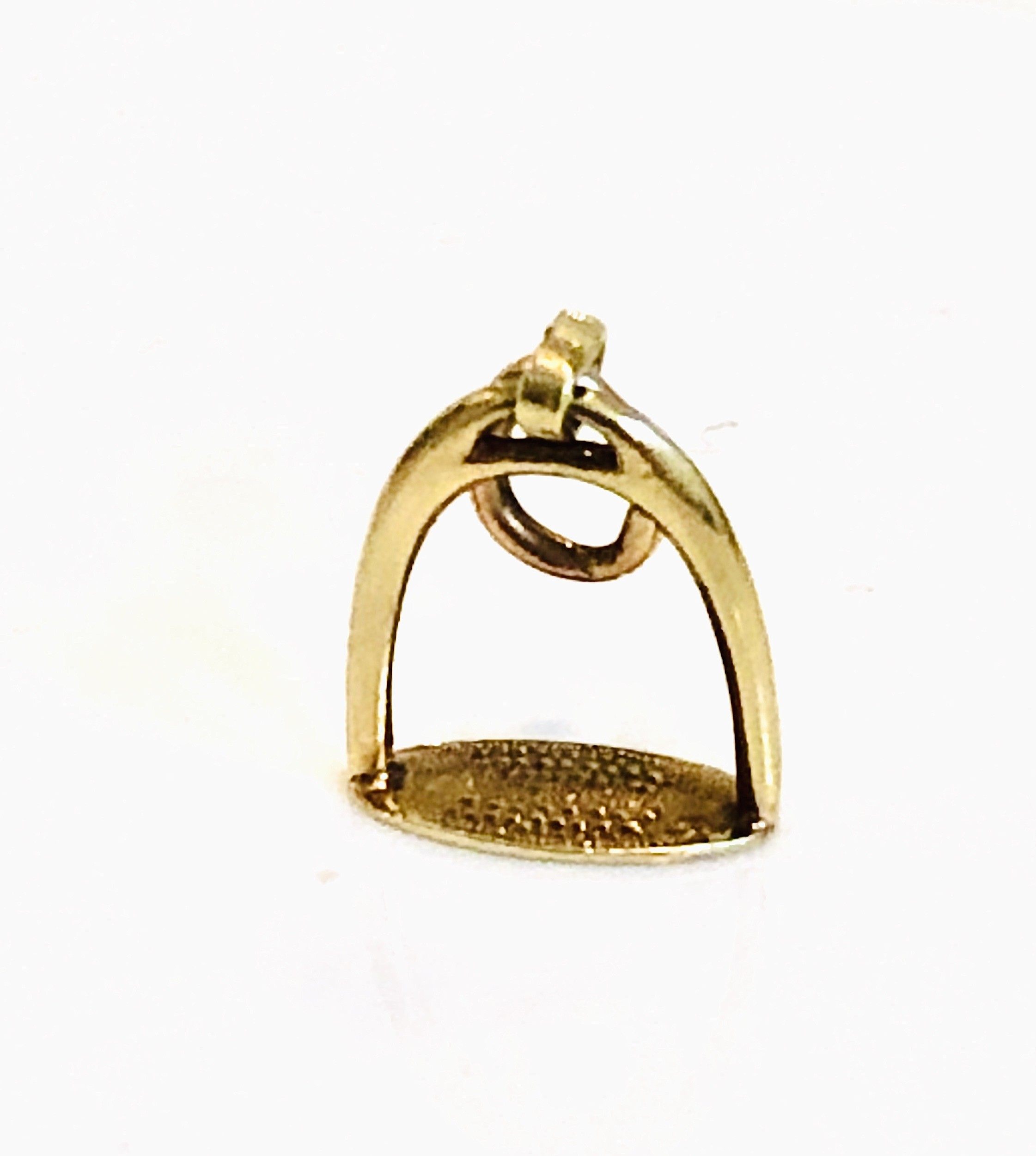 Estate Stirrup Charm