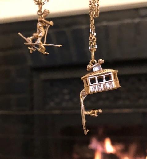 Vintage Ski Gondola Charm