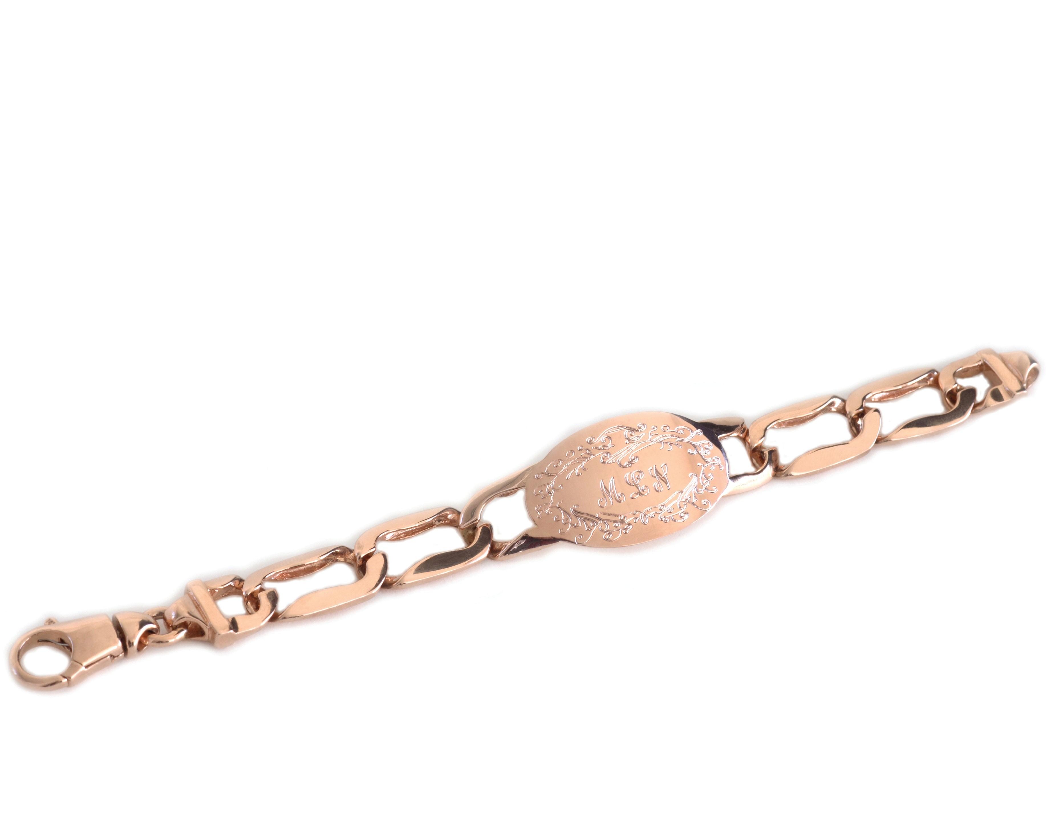 Large Signature ID Bracelet