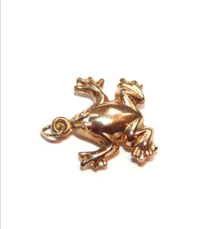 Estate Frog Charm