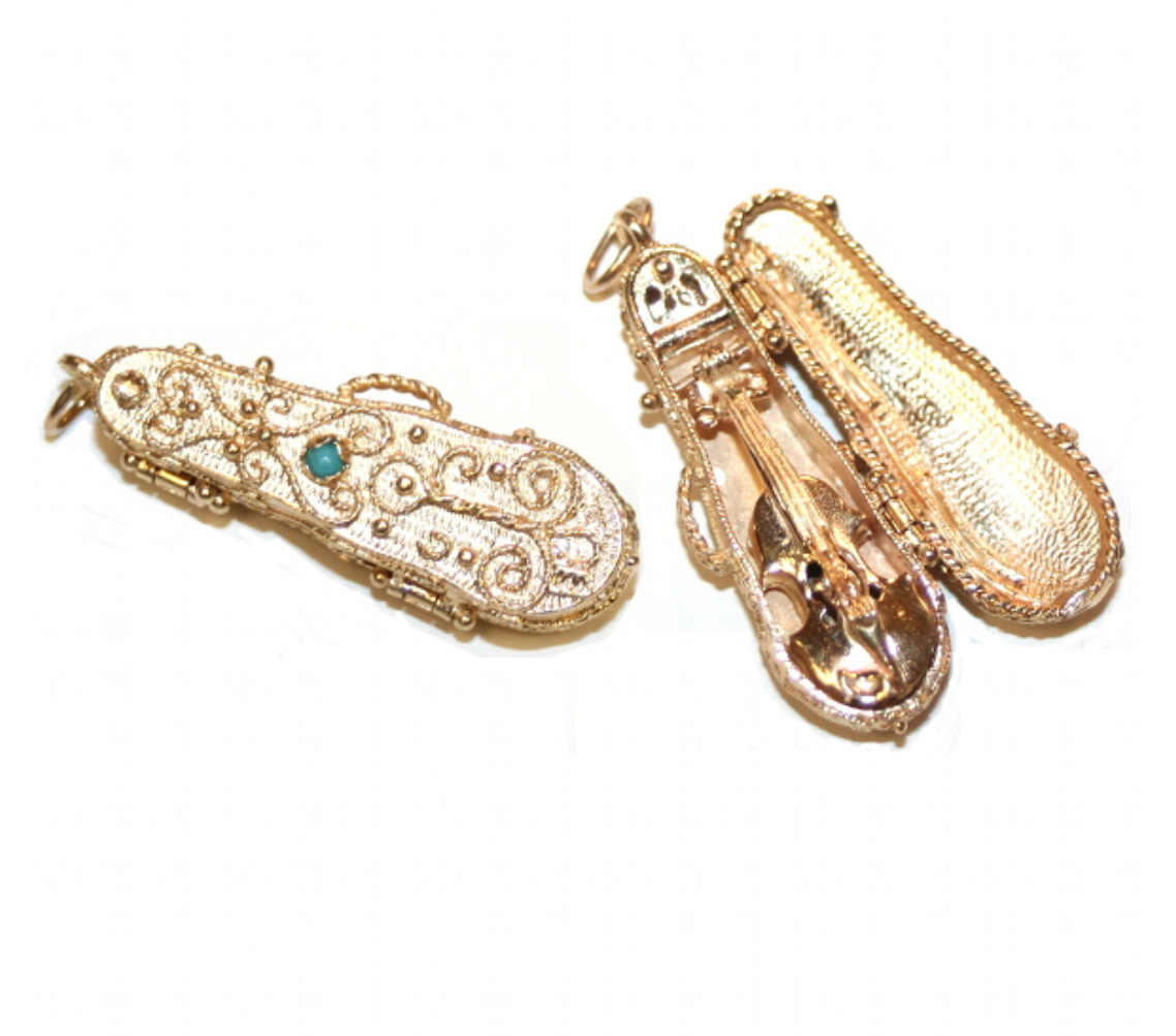 Estate Violin Charm