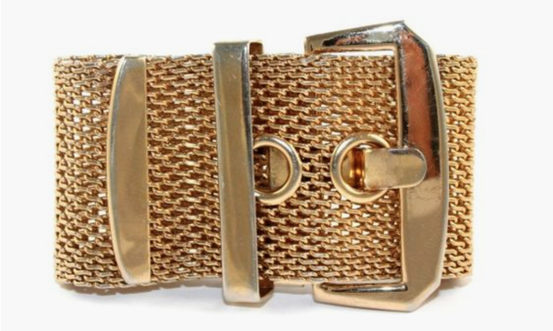 Estate Buckle Bracelet