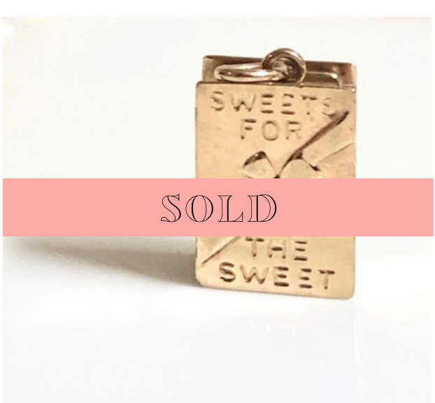 Vintage Candy Box Charm (Opens!)