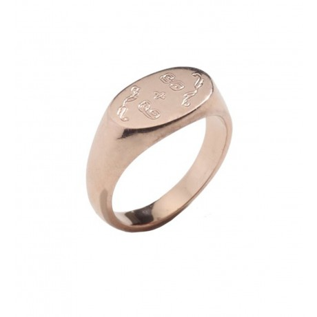 Small Signature Pinky Rings