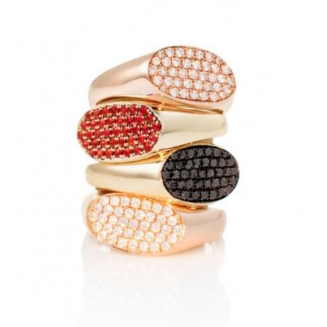Diamond and Precious Stone Signet Rings