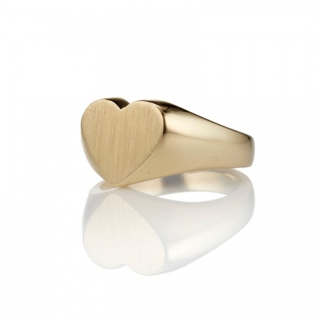 Heart Signet Ring