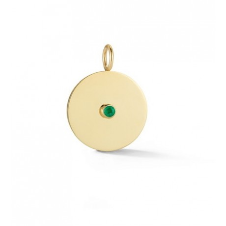 Birthstone Disc Charm