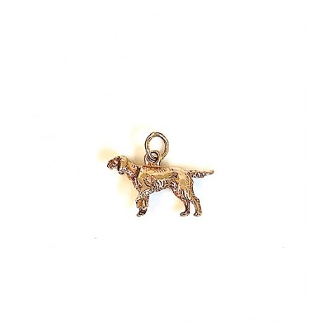 Estate Teeny Dog Charm