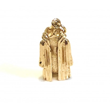 Estate Mink Coat Charm