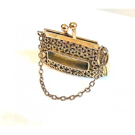 Large Estate Purse Charm