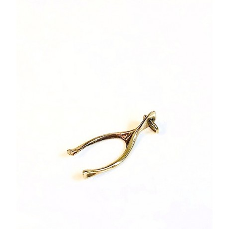 Estate Petite Wishbone Charm