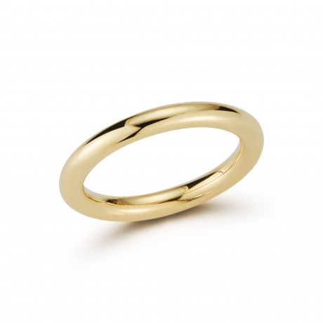 Solid Gold 3mm Band Ring