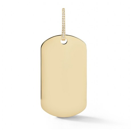 Statement Dog Tag