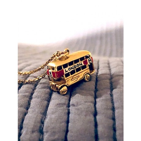 Estate London Double Decker Bus Charm