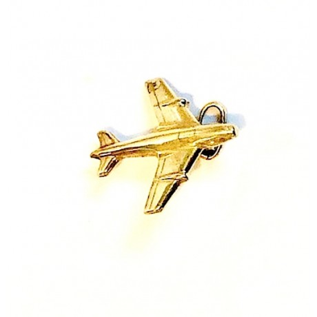 Estate Airplane Charm