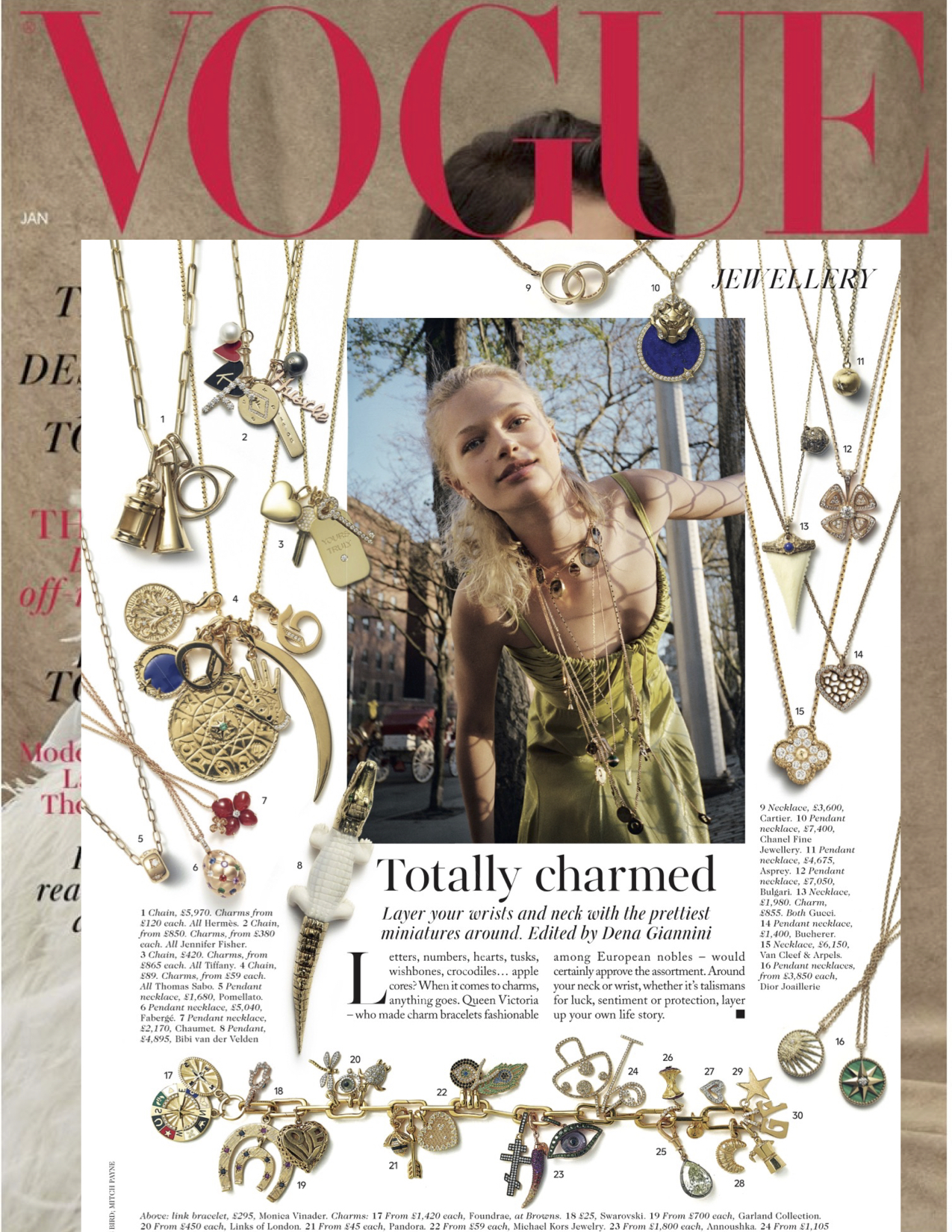 British VOGUE January 2019