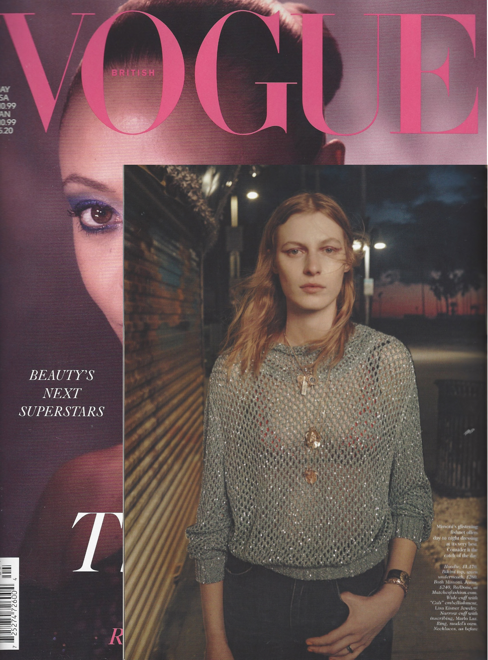 British Vogue May 2021