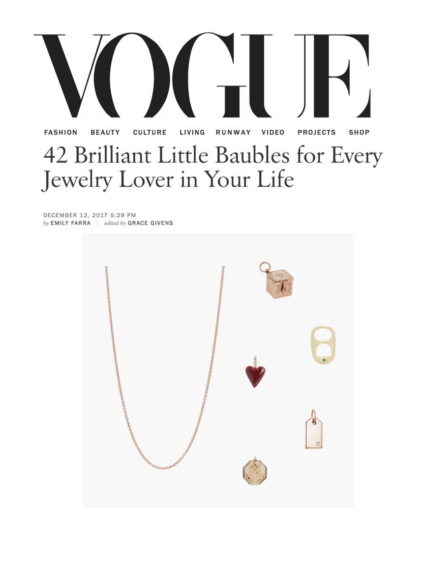 Vogue Dec 2017